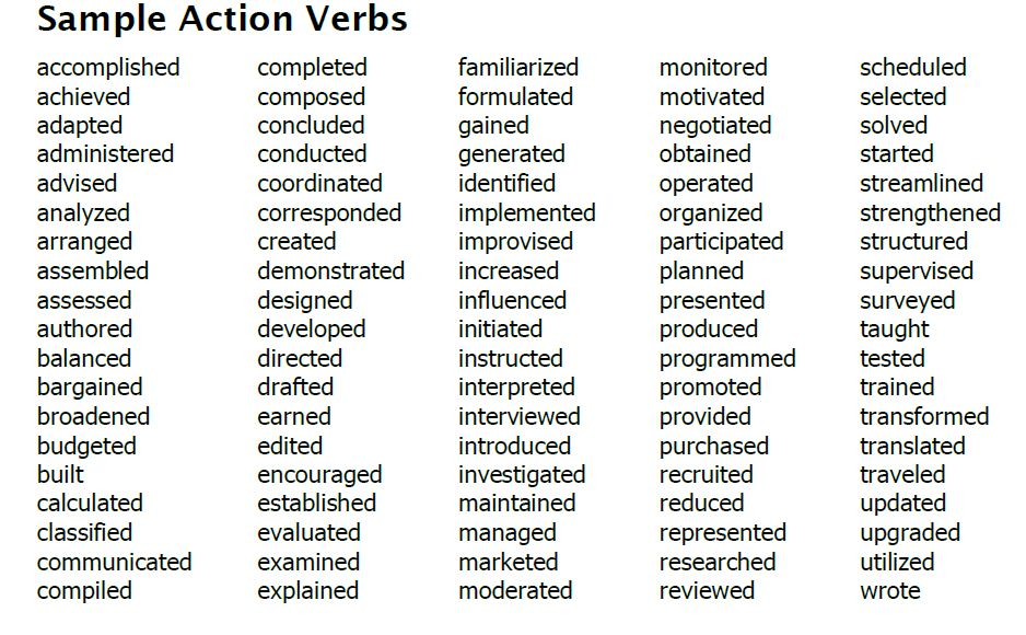 verbs yoder 39 s classroom connection